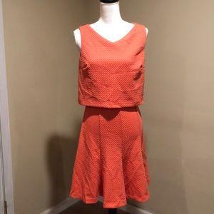 Women's Coral sleeveless dress size 6